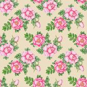 Hand-drawn briar seamless pattern — Stock Photo