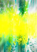 Splashes of paint — Stock Photo
