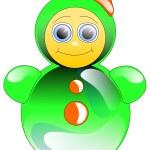 juguete Roly-Poly — Foto de Stock