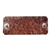 Rusty tag — Stock Photo