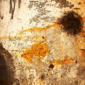 Vernice versato sul muro con spray — Foto Stock