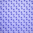 Blue dots textile background — Stock Photo