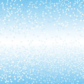 Illustration blue background with drops — Stock Photo