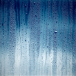 Texture of water on glass — Stock Photo #30448977