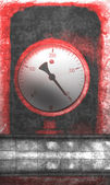 Red meter — Stock Photo
