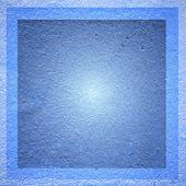 Blue framed background — Stock Photo