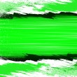 Torn strips of green — Stock Photo