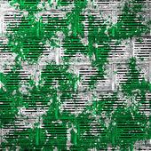 Sfondo verde del reticolo intorno — Foto Stock