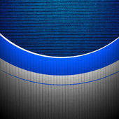 Blue textured background with curved lines — Photo