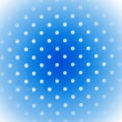 Blue background with white dots — Stock Photo