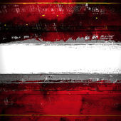 White stripe on a red background — Stock Photo