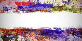 油漆背景的油渍 — 图库照片