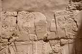 Egypt pharaoh murals on the pyramid — ストック写真