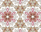 Seamless vintage floral pattern background — Stock Vector