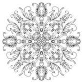 Vektor sömlös vintage blommiga mönster bakgrund — Stockvektor