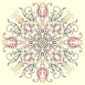 Sfondo seamless pattern floreale vintage vettoriale — Vettoriale Stock