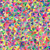 Vector colorful triangle pattern background — Stock Vector