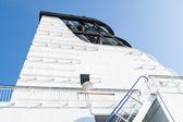 Motor boruların büyük cruise gemi — Stok fotoğraf