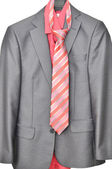 Men's suit with a tie — 图库照片