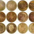 Stock Photo: Vintage rare coins of different countries