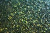 Piedras bajo el agua — Foto de Stock