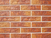 Brickwork as texture and background — Stock Photo
