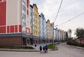 New apartment houses — Stock Photo