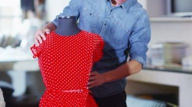 Portrait of male fashion designer — ストックビデオ