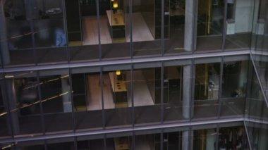 Empty meeting room — Stock Video