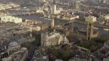 Big Ben and Houses of Parliament — Stock Video