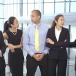 Group of business people in office — Stock Video #45478095