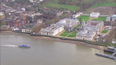 Old Royal Naval College at Greenwich — Stock Video