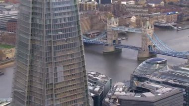 Tower bridge à Londres — Vidéo