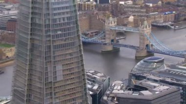 Towerbridge in london — Stockvideo