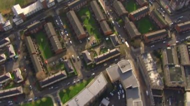 Residential area on outskirts of London — Stock Video