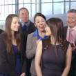 Group of business people in office — Stock Video #45504593