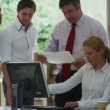 Business team are gathered together — Stock Video #45618267