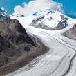 Stock Photo: Aletsch Glacier in European