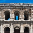 Ancient Romamphitheater in Nimes, France — Stok Fotoğraf #23125340