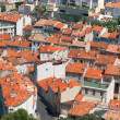 Roofs marselya.Vid top - 图库照片
