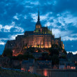 Stock Photo: Mont Saint Michel at evening