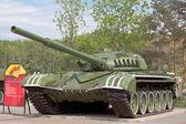 坦克 t-72 博物馆展出 — 图库照片