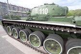 Tank T-72 museum exhibit — Stock Photo