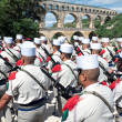 NIMES, FRANCE - JULY 2: French Foreign Legion 2nd Foreign Infant — Stock Photo