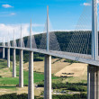 Millau Viaduct, Aveyron Departement, France — Stock Photo