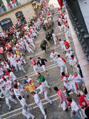 Festival of San Fermin in Pamplona — Стоковое фото