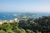 View of Saint Jean Cap Ferrat on the French Riviera — Stockfoto