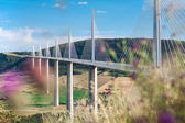 Millau Viaduct, Aveyron Departement, France — Foto Stock