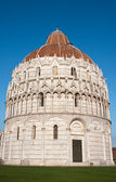 Baptistery of San Giovanni. Pisa — Stock Photo