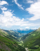 Альпы. Valais canton. Switzerland — Stock Photo